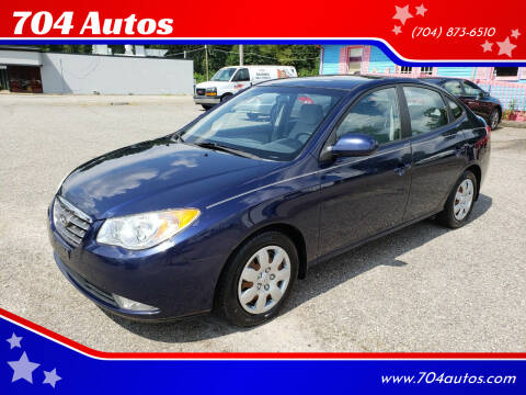 2008 Hyundai Elantra for sale at 704 Autos in Statesville NC