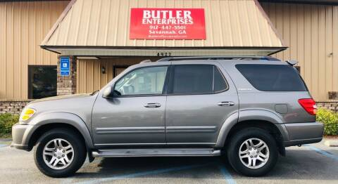 2004 Toyota Sequoia for sale at Butler Enterprises in Savannah GA