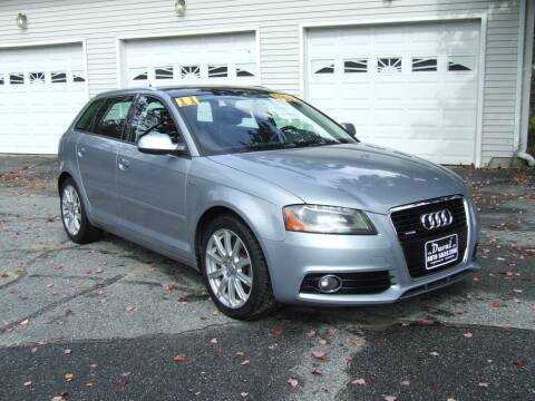 2011 Audi A3 for sale at DUVAL AUTO SALES in Turner ME