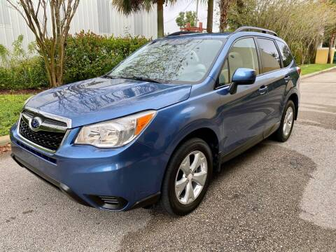 2015 Subaru Forester for sale at DENMARK AUTO BROKERS in Riviera Beach FL