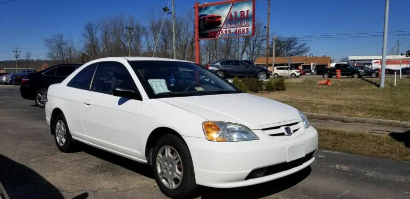 2002 Honda Civic for sale at Albi Auto Sales LLC in Louisville KY