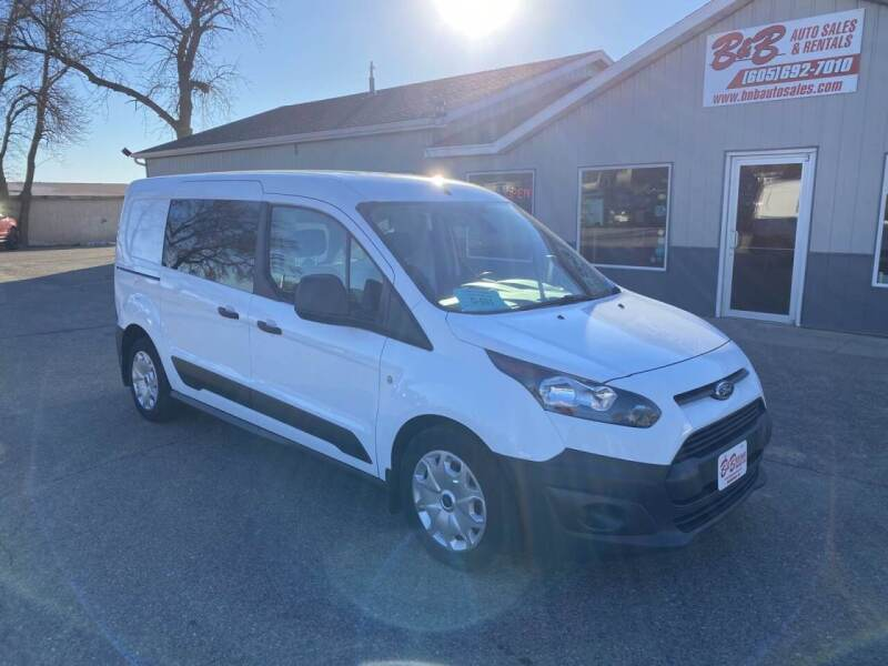 2016 Ford Transit Connect Cargo for sale at B & B Auto Sales in Brookings SD