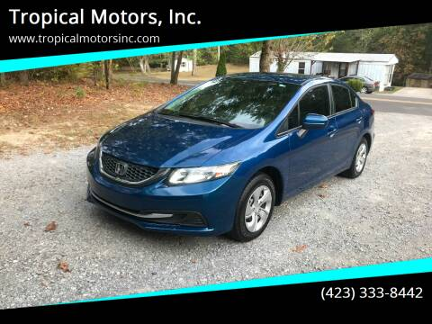 2014 Honda Civic for sale at Tropical Motors, Inc. in Riceville TN