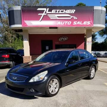 2010 Infiniti G37 Sedan for sale at Fletcher Auto Sales in Augusta GA