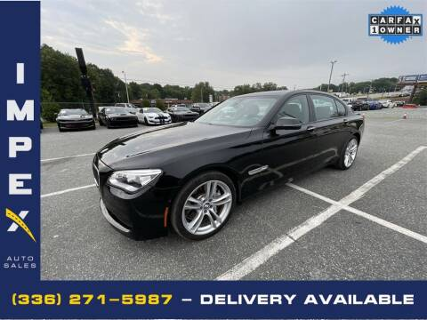 2015 BMW 7 Series for sale at Impex Auto Sales in Greensboro NC