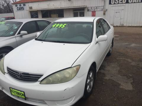 2006 Toyota Camry for sale at B & B CARS llc in Bossier City LA