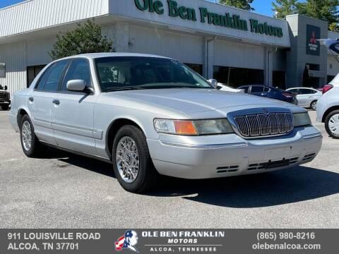 2000 Mercury Grand Marquis for sale at Ole Ben Franklin Motors-Mitsubishi of Alcoa in Alcoa TN