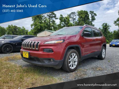 2014 Jeep Cherokee for sale at Honest John's Used Cars in Deridder LA