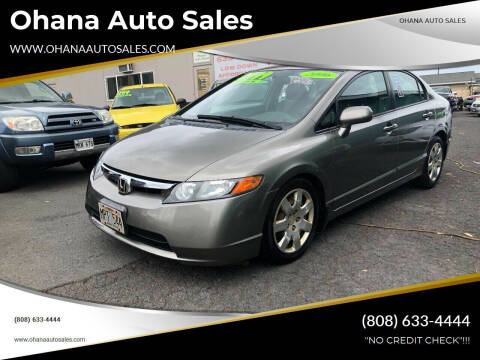 2006 Honda Civic for sale at Ohana Auto Sales in Wailuku HI