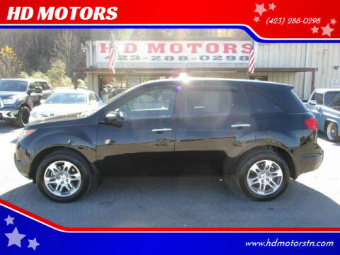 2008 Acura MDX for sale at HD MOTORS in Kingsport TN