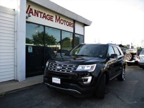 2017 Ford Explorer for sale at Vantage Motors LLC in Raytown MO