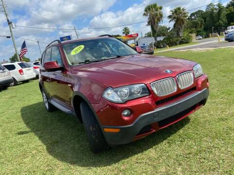 2010 BMW X3 for sale at Unique Motor Sport Sales in Kissimmee FL