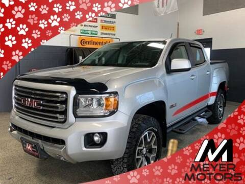 2016 GMC Canyon for sale at Meyer Motors in Plymouth WI
