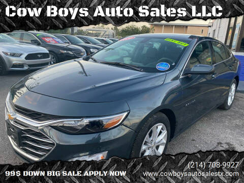 2020 Chevrolet Malibu for sale at Cow Boys Auto Sales LLC in Garland TX
