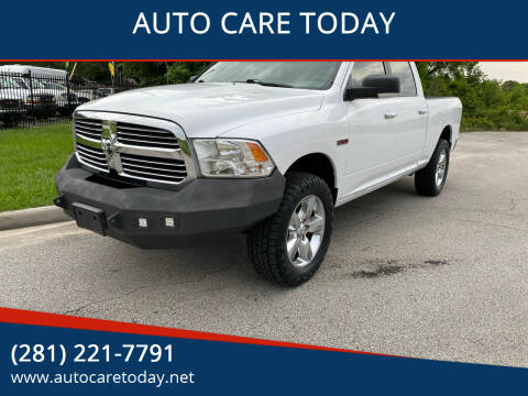 2016 RAM Ram Pickup 1500 for sale at AUTO CARE TODAY in Spring TX
