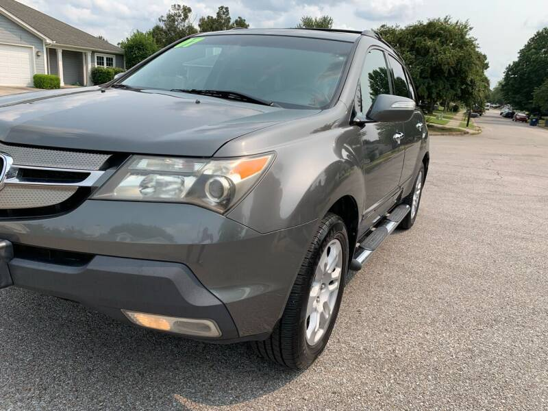 2007 Acura MDX for sale at TOLBERT AUTOMOTIVE, LLC in Harvest AL