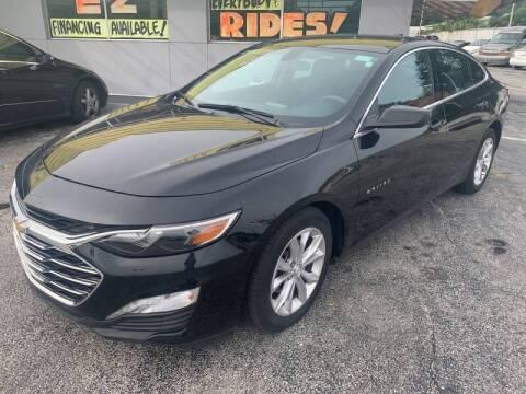 2019 Chevrolet Malibu for sale at Castle Used Cars in Jacksonville FL