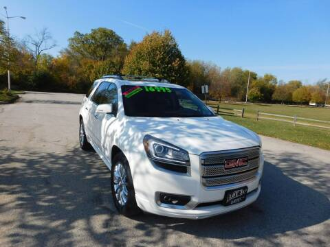 2014 GMC Acadia for sale at Lot 31 Auto Sales in Kenosha WI