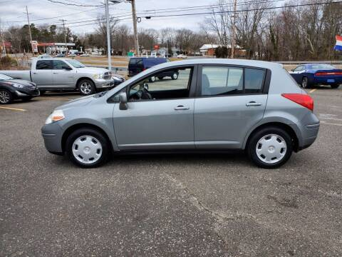 2008 Nissan Versa for sale at CANDOR INC in Toms River NJ