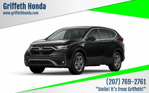 2020 Honda CR-V for sale at Griffeth Honda in Presque Isle ME