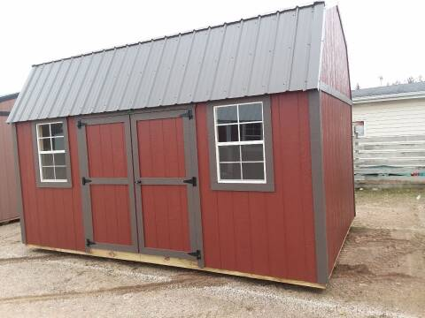 2020 PREMIER Portable Building's 10x16 Side Lofted Barn SOLD for sale at Dave's Auto Sales & Service - Premier Buildings in Weyauwega WI
