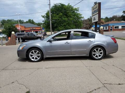2007 Nissan Maxima for sale at RIVERSIDE AUTO SALES in Sioux City IA