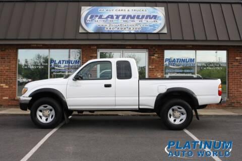 2003 Toyota Tacoma for sale at Platinum Auto World in Fredericksburg VA