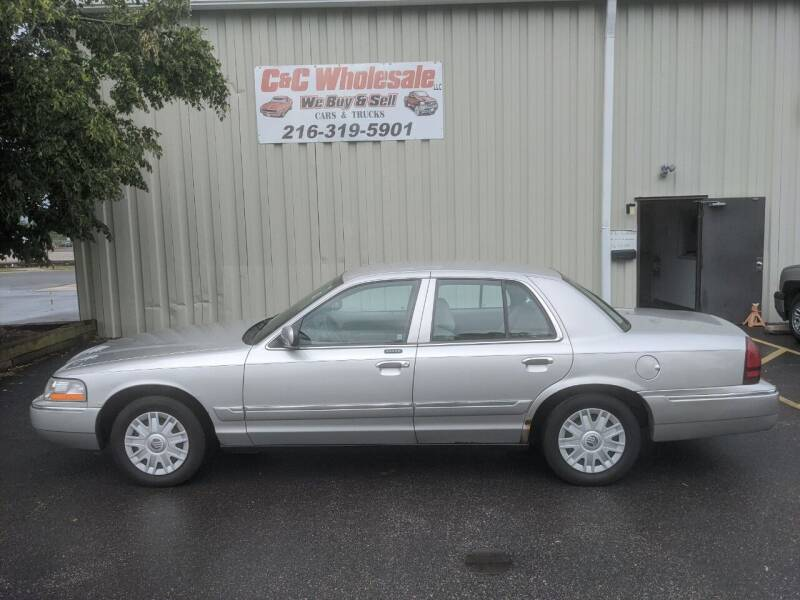 2004 Mercury Grand Marquis for sale at C & C Wholesale in Cleveland OH
