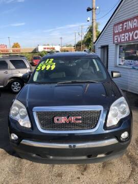 2012 GMC Acadia for sale at Al's Linc Merc Inc. in Garden City MI