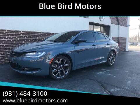 2015 Chrysler 200 for sale at Blue Bird Motors in Crossville TN