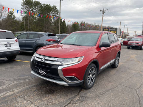2017 Mitsubishi Outlander for sale at Affordable Auto Sales in Webster WI