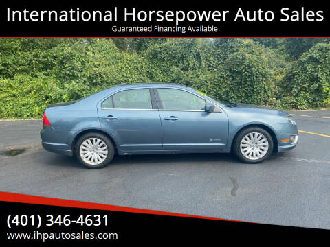 2011 Ford Fusion Hybrid for sale at International Horsepower Auto Sales in Warwick RI