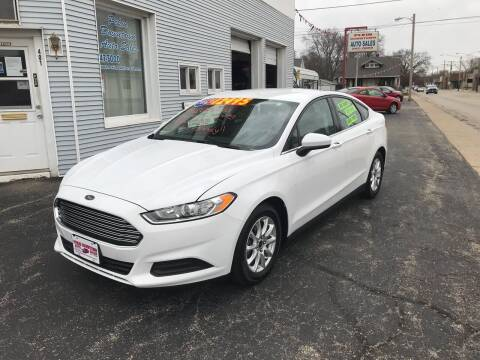 2016 Ford Fusion for sale at PEKIN DOWNTOWN AUTO SALES in Pekin IL