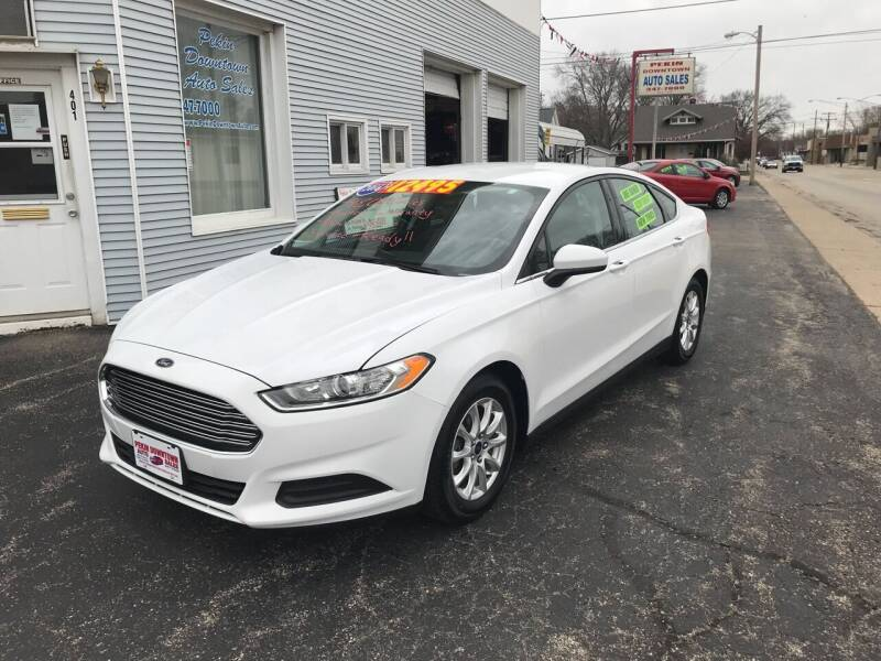 2016 Ford Fusion for sale at PEKIN DOWNTOWN AUTO SALES in Pekin IL