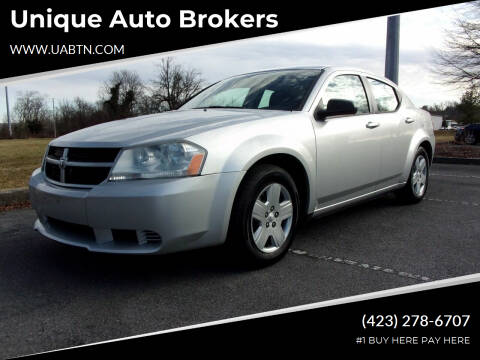 2010 Dodge Avenger for sale at Unique Auto Brokers in Kingsport TN