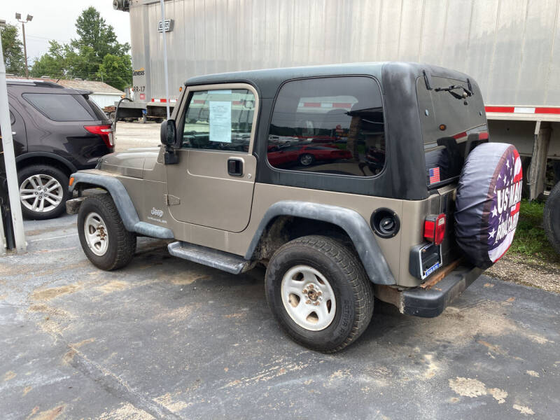 2003 Jeep Wrangler for sale at Singer Auto Sales in Caldwell OH