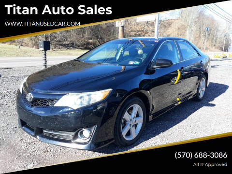 2013 Toyota Camry for sale at Titan Auto Sales in Berwick PA