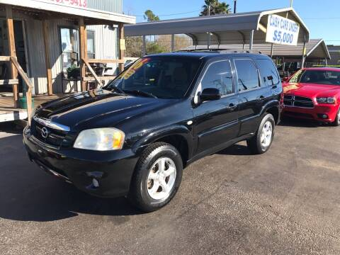 2006 Mazda Tribute for sale at Texas 1 Auto Finance in Kemah TX