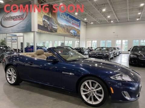 2013 Jaguar XK for sale at Godspeed Motors in Charlotte NC