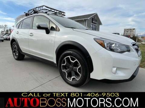 2015 Subaru XV Crosstrek for sale at Auto Boss in Woods Cross UT