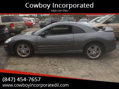 2003 Mitsubishi Eclipse for sale at Cowboy Incorporated in Waukegan IL
