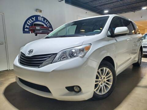 2012 Toyota Sienna for sale at Italy Blue Auto Sales llc in Miami FL