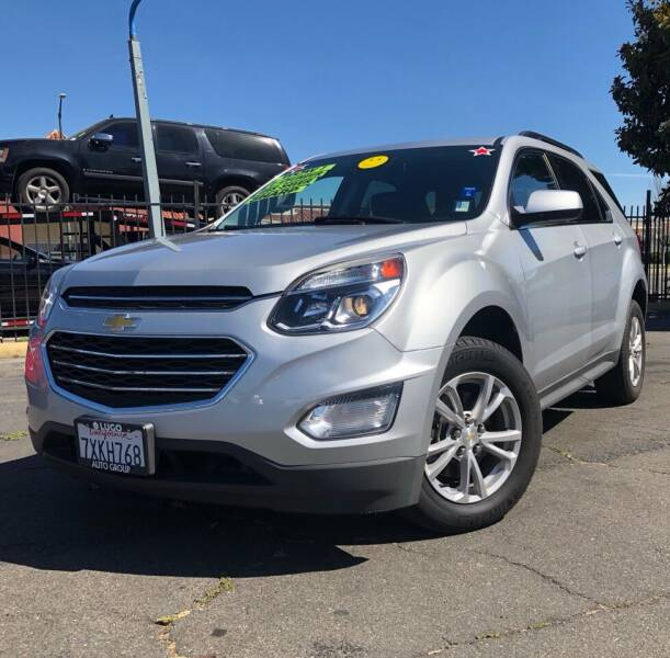 2017 Chevrolet Equinox for sale at LUGO AUTO GROUP in Sacramento CA