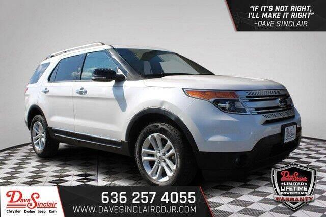 2013 Ford Explorer for sale at Dave Sinclair Chrysler Dodge Jeep Ram in Pacific MO