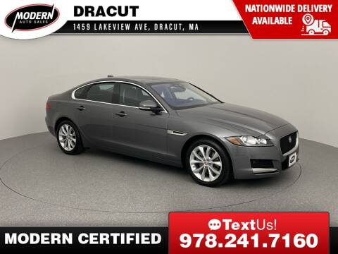 2018 Jaguar XF for sale at Modern Auto Sales in Tyngsboro MA