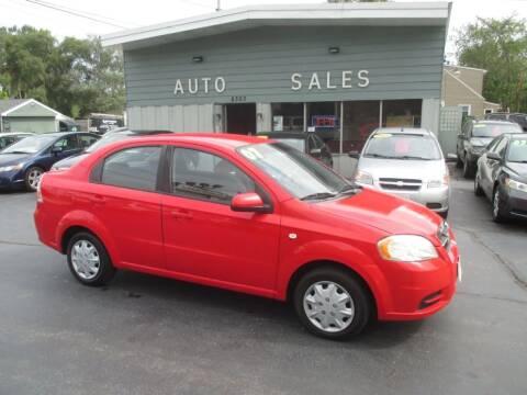 2007 Chevrolet Aveo for sale at SHEFFIELD MOTORS INC in Kenosha WI