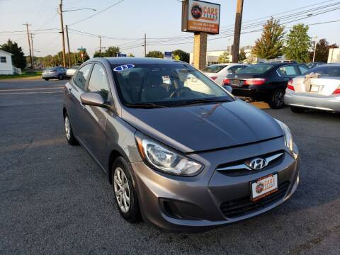 2013 Hyundai Accent for sale at Cars 4 Grab in Winchester VA