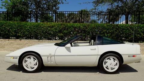 1988 Chevrolet Corvette for sale at Premier Luxury Cars in Oakland Park FL