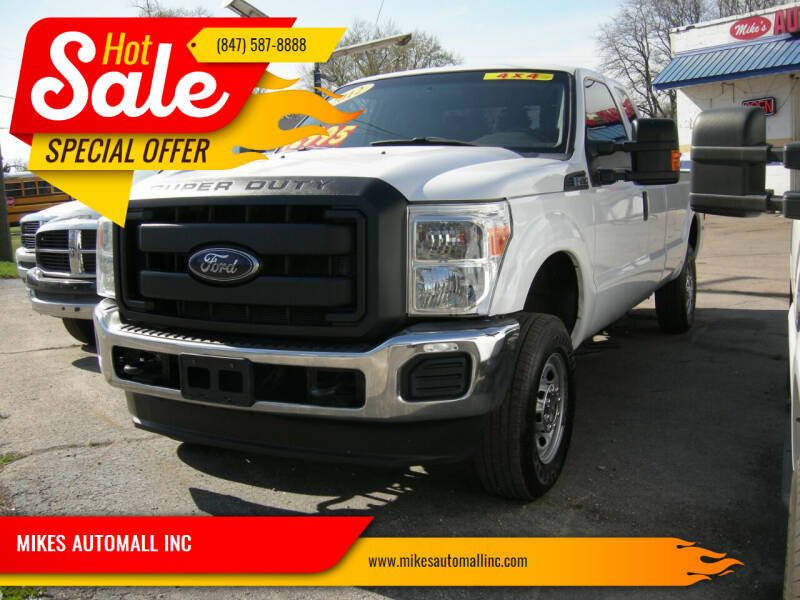 2012 Ford F-250 Super Duty for sale at MIKES AUTOMALL INC in Ingleside IL