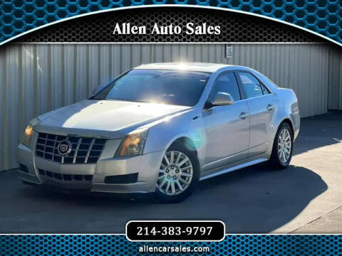 2013 Cadillac CTS for sale at Allen Auto Sales in Dallas TX